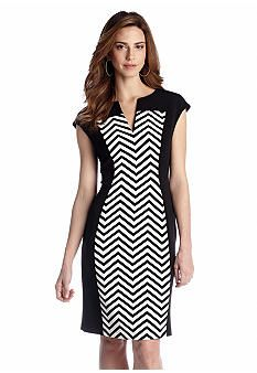 Connected Apparel Cap-Sleeve Sheath Dress SALE $21.99