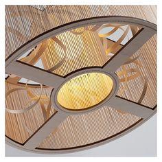 Pendant Lamp Ø 65 - Ash/Birch - alt_image_one Cage Pendant Light, Cage Light, Pendant Lamp, Wooden Lampshade, Wood Lamps, Contemporary Furniture, Modern Contemporary, Tom Raffield, Scandinavian Design