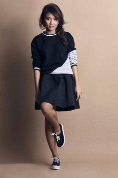 Step stylishly toward your goals. Seize looks and the day like Kathryn Bernardo (@bernardokath) for #BenchTM.