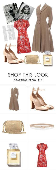 """1940's"" by shurmanira ❤ liked on Polyvore featuring Valentino and Lily and Lionel"
