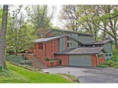 This home in Webster Groves, MO is now for sale. It was built by Scott Mosby's father, Sam. More about it here: http://www.mosbybuildingarts.com/about/house_sam_built.php