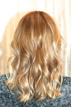 honey blonde hair - I love this colour!
