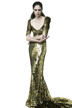 Zac Posen 2012. This is what I would wear to the Met Ball.