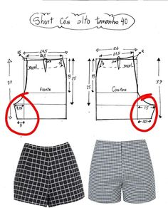 Trouser Pants Clothing And Textile Clothing Patterns Dress Patterns Sewing Patterns Sewing Hacks Sewing Tutorials Sewing Projects Fashion Pants Sewing Shorts, Sewing Clothes, Doll Clothes, Dress Sewing Patterns, Clothing Patterns, Shirt Patterns, Fashion Sewing, Diy Fashion, How To Make Clothes