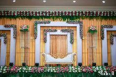 Wedding Stage Decorations, Backdrop Decorations, Backdrops, Balloon Arch, Balloons, Ganesh Chaturthi Decoration, Church Stage Design, Background Decoration, Wedding Background