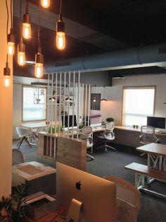 espace de travail à plan ouvert