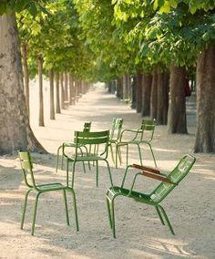 Fermob Luxembourg stoelen
