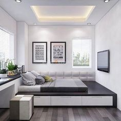 61 Best Bedroom Decor Ideas To Inspire succulent bedroom decor summer bedroom decor simple bedroom lakehouse bedroom Home Room Design, Master Bedroom Design, Home Interior Design, House Design, Modern Interior, Simple Bedroom Decor, Home Decor Bedroom, Modern Bedroom, Trendy Bedroom