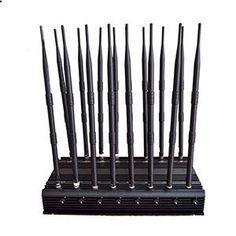 Cell Phone Antenna - Cell Phone Jammer 3.5G Blocker Jamming WiFi GPS UHF VHF 315MHz Signals
