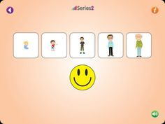 Series 2 ($0.00; 1.99 full version) teachesyour child about the world of relations. Your child learns to arrange objects in a series based on various principles such as shape, color, size and quantity. The game develops primary math concepts such as size and quantity, visual perception skills, such as visual differentiation, fine motor skills and with parental assistance can develop language skills.  Designed for children aged 4+