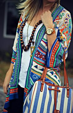 Stitch Fix Stylist- this cardigan is gorgeous! The pattern and colors are so bold and I love it.