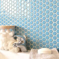 https://www.wallsandfloors.co.uk/toto-hexagon-mosaic-tiles-gloss-sky-blue-hexagonal-tiles