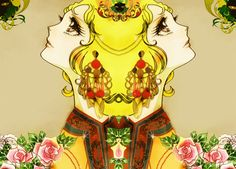 Dolce & Gabbana F/W 2013 by Cristian Grossi  Curated.Works: Manga Legends – The Rose of Versailles
