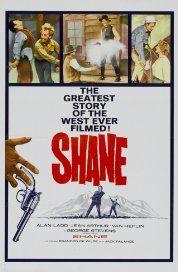 Shane (1953) Poster