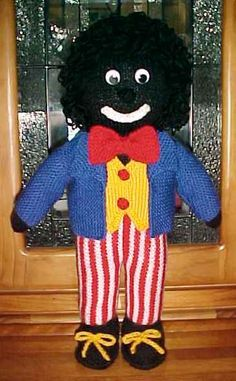 Knitted Golliwog Pattern : GOLLIWOG KNITTING PATTERNS Free Patterns Knitting/Crochet Patterns to try...