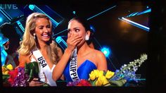 MISS UNIVERSE 2015 WINNER MIXUP (COLOMBIA IS CROWNED BY MISTAKE) STEVE H...