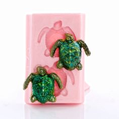 Turtle Silicone Mold - Sea Turtle Silicone Mold - Food Safe Fondant Chocolate Mint - Jewelry Resin Polymer Clay Soap Embed Metal Clay (873) by MoldMeShapeMe on Etsy