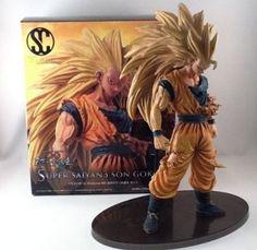 Super Saiyan 3 Goku - Dragon Ball Kai SCultures Zoukei Tenkaichi Budoukai Banpresto Figure Colosseum