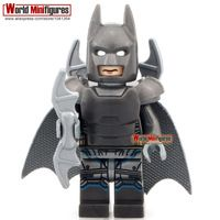 50pcs/lot PG007 Batman DC Super Heroes Batman vs. Superman Minifigures Building Blocks Batman Legoieds Children Gift Toys