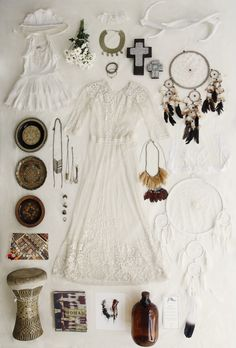 New Flat Lay Shoot / Nomadic Dreams / Wedding Style Inspiration / LANE (instagram: the_lane)