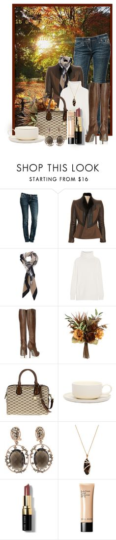 """""""@"""" by lavanda79-1 ❤ liked on Polyvore featuring Rock Revival, Givenchy, Burberry, Joseph, Sergio Rossi, MICHAEL Michael Kors, Jansen+Co, Nephora and Bobbi Brown Cosmetics"""