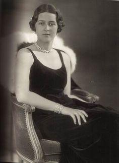 Princess Cecilie of Greece and Denmark. The daughter of Prince Andrew of Greece and Princess Alice of Battenberg, and the sister of Prince Philip of Edinburgh. In 1931 she married Georg Donatus, Hereditary Grand Duke of Hesse and by Rhine. Harlem Renaissance, Alice Von Battenberg, Adele, Prins Philip, Princesa Victoria, Greek Royalty, Greek Royal Family, Grand Duchess Olga, Isabel Ii