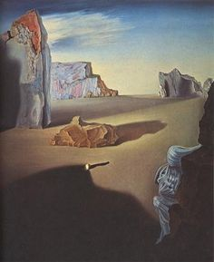 "Salvador Dalí (1904-1989), ""Shades of Night Descending"" - The Dalí Museum ~ St. Petersburg, Florida, USA"