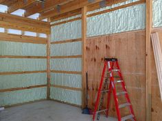 Foam It Green 602 Closed Cell Spray Foam Insulation Kit Gorgeous-Garage Spray Foam Insulation Kits, Garage Insulation, Insulating Garage Walls, Metal Building Insulation, Cabana, Home Renovation, Home Remodeling, Basement Renovations, Bathroom Remodeling
