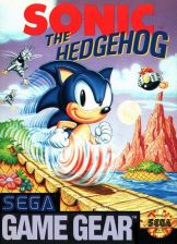 Sonic The Hedgehog Sega Game Gear cover artwork
