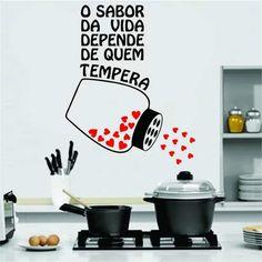 Adesivo Decorativo Parede Cozinha Geladeira Café Frases - R$ 29,99