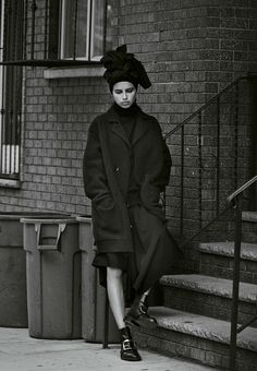 "Adriana Lima in ""Mystère À Brooklyn"" by Peter Lindbergh for M Le Monde September 2014"