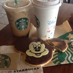 "Starbucks at Disney Parks ~ I must go...does it get any better than Disney & Starbucks : ) I don't think so...I always said ""the only thing that would make Disney better is if they partnered with Starbucks""!"