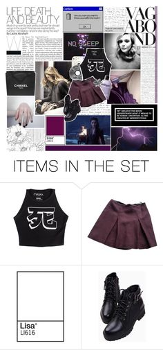 """✰ are you deranged like me? ✰"" by miss-scarlet-wxtch ❤ liked on Polyvore featuring art and sgfyround02"