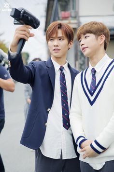 [10.11.16] Music Video behind the story - Rocky e MyungJun
