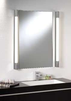 Bathroom Mirror Ideas Lights Over Best Lighting Lighted Vanity