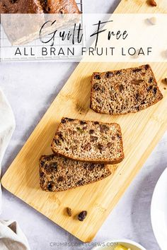This Bran Fruit Loaf is a good mid-morning boost that will keep you going until lunchtime. Say goodbye to hunger pangs!