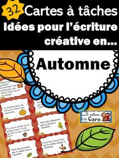 La classe de Caro: Saison: L'automne Core French, French Class, French Teacher, Teaching French, Teacher Helper, French Education, French Immersion, Learn French, Elementary Schools