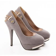 Suede Sequins and Rhinestone Design Spring Pumps For Women