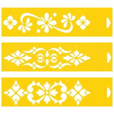 CENEFA Quilting Stencils, Stencil Patterns, Stencil Designs, Embroidery Patterns, Hand Embroidery, Letter Stencils, Stencil Painting, Fabric Painting, Diy Leather Bracelet