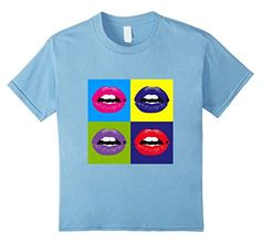 0288311f Baby Blue, Graphic Tees, Pop Culture, Lips, Amazon, Sexy, Clothes, T Shirt,  Mens Tops