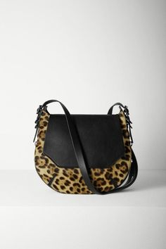 Bradbury Small Flap Hobo – Leopard. This is a great look.