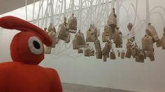 anoche hice un recorrido visual       en el @muac_unam    estuvo de lujo.  !!!!!!   *D ____________________  this eye last night at the muac (contemporary art university museum)
