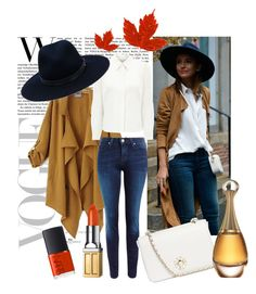 """""""Style inspiration 2"""" by renicherie on Polyvore featuring Chicnova Fashion, Lee, Eastex, Tory Burch, rag & bone, Christian Dior, Elizabeth Arden, NARS Cosmetics, women's clothing and women"""