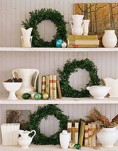 A Lesson in Christmas Neutrals. (Mix it up even more with texture & shape, too!)