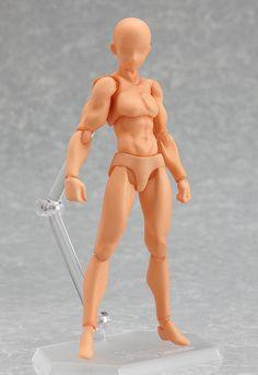 Figma Archetype Action figure He Male Version Flesh Color 13 cm Max Factory in Giocattoli e modellismo, Action figure, Anime e manga | eBay