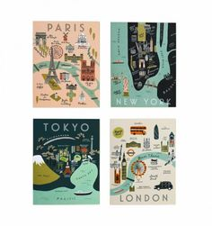 17 Pieces of Map Wall Art to Satisfy Your Wanderlust via Brit + Co
