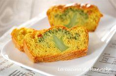 Plumcake con broccoli e zafferano
