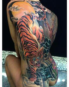 Incredible back piece