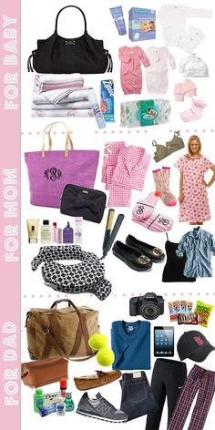 Delivery Hospital Bag Checklist by Mallory from Style Your S-Delivery Hospital Bag Checklist by Mallory from Style Your Senses – Lynzy & Co. A very detailed delivery hospital bag checklist from Mallory! A great resource for every mama! Getting Ready For Baby, Preparing For Baby, Delivery Hospital Bag, Daddy Hospital Bag, Csection Hospital Bag, Hospital List, Pregnancy Hospital Bag, Hospital Bag For Mom To Be, Delivery Bag