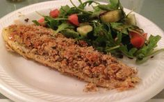 Clean Eating Rosemary Crusted Tilapia (use a different type of fish) #detoxrecipes